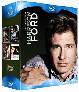 Coffret Blu-ray Harrison Ford :  Blade Runner + Présumé innocent + Le fugitif + Frantic