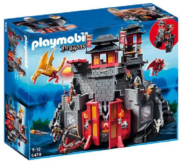 Jouet Playmobil : Forteresse impériale du Dragon