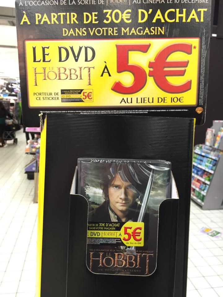 Le Hobbit - Un voyage inattendu en DVD dès 30€ d'achat