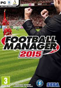 Football Manager 2015 sur PC (Steam)