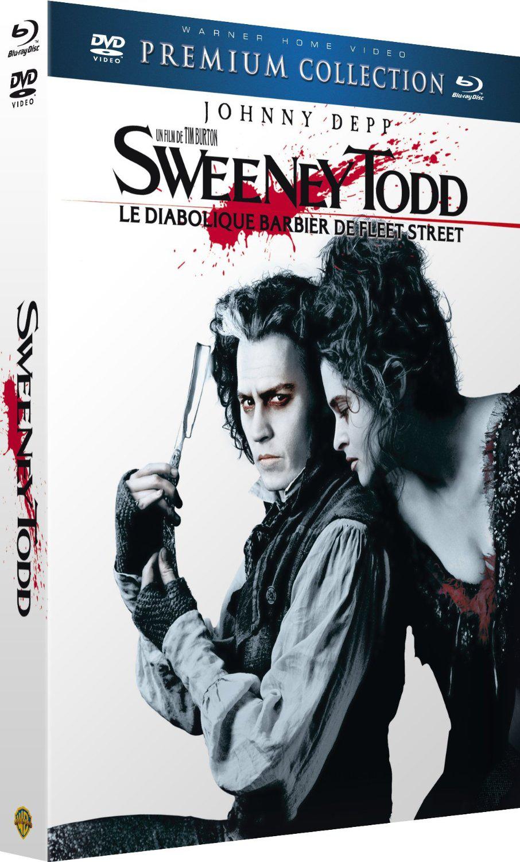 "Blu-ray Premium Collection (Blu-ray + DVD) - Sweeney Todd ""Le Diabolique barbier de Fleet Street"""