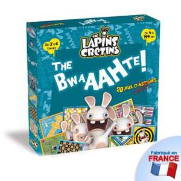 """Jeu de plateau Lapins Crétins """"The Bwaahte"""" - 20 Jeux Classiques"""