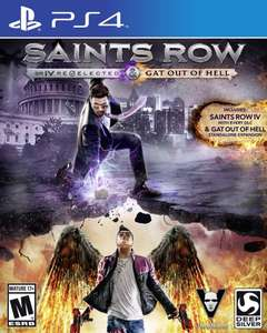 Précommande : Saints Row IV Re-elected & Gat Out of Hell sur PS4 / XBOX One