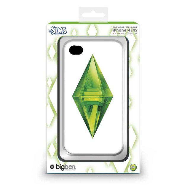 Coque BigBen iPhone 4/4s ou Samsung Galaxy S3 - Motif Battlefield 3, Tomb Raider ou Les Sims 3