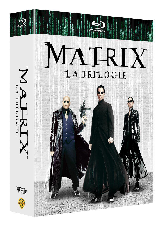 Coffret Blu-ray la Trilogie Matrix