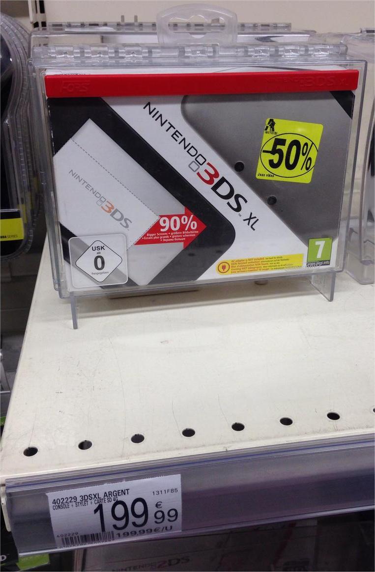Console Nintendo 3DS XL - Argent