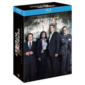 Coffret Blu-Ray Intégrale Person of Interest - Saisons 1 & 2
