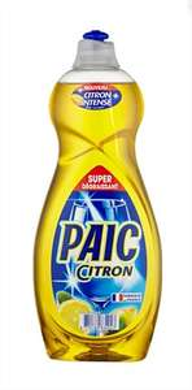Promotion sur une sélection de produits d'hygiènes et entretiens - Ex: Lot de 2 liquides vaisselle Paic Citron (2 x 750 ml)