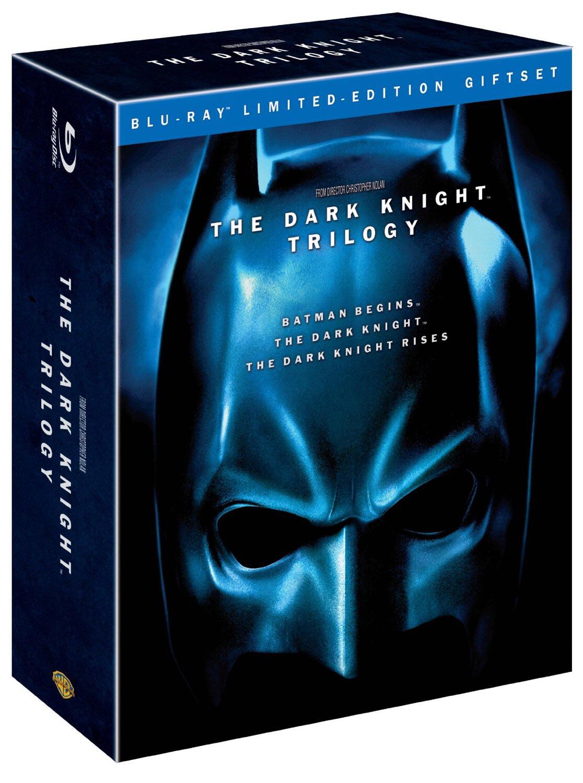 The Dark Knight Trilogie Coffret Métal 5 Blu-Ray