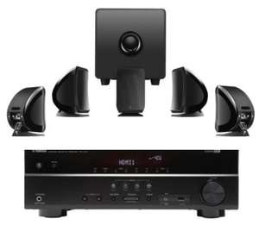 Pack home cinéma enceinte Focal 5.1 Sib & Cub 3 + Ampli Yamaha RX-V377