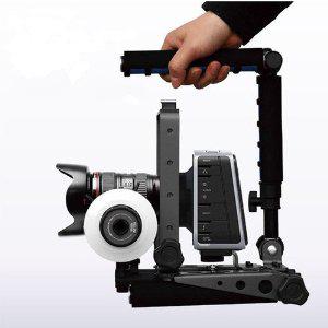 Stabilisateur support épaule Eimo Spider Rig DR-2 pour caméra de cinéma, reflex numériques, caméscopes