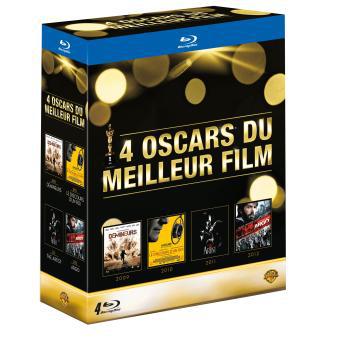 Coffret 4 Blu-ray Oscar du meilleur film (Démineurs + Le discours d'un roi + The Artist + Argo)