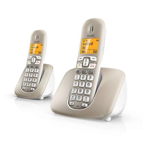 Pack de 2 téléphones sans fil Philips XL3902S/38