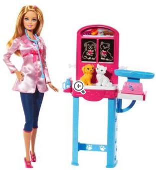 Une poupée Barbie offerte à partir de 30€ d'achat parmi une sélection Barbie. Exemple: 30,47€ les 4 poupées Barbie