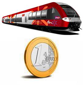 Trajet TER Languedoc Roussillon (quantité limitée)