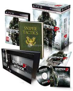 Sniper 2 Ghost Warrior édition collector sur PS3
