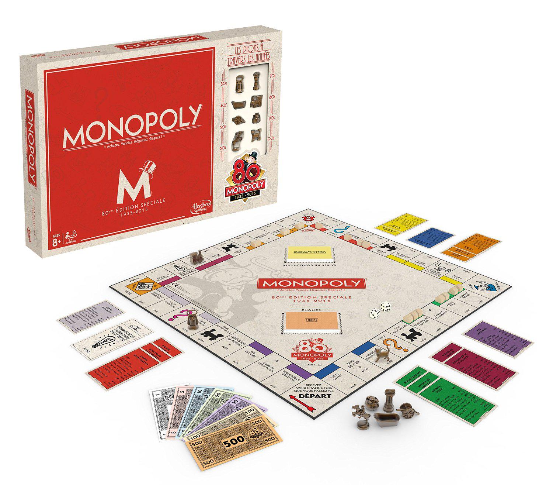 Jeu de société Monopoly Vintage 80 ans (Avec ODR de 50%)