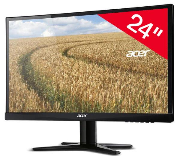 """Ecran PC  24"""" Acer G247HLBID -  Led - Full HD - dalle IPS"""