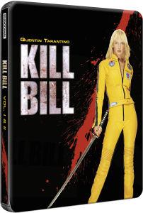 Coffret Blu-Ray Kill Bill Vol. I & II - édition limitée en acier (en anglais)