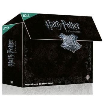 50% de réduction sur une sélection de coffrets Blu-Ray - ex. : Intégrale Harry Potter
