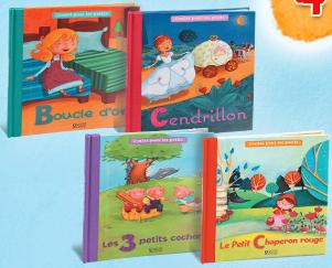 4 livres de contes pour les petits + 2 cadeaux