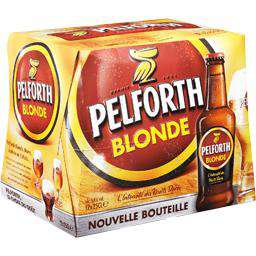 Pack de bière Blonde Pelforth  12x25c