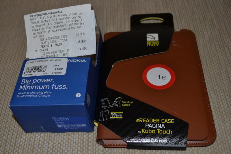 Chargeur sans-fil à induction Nokia DT-601