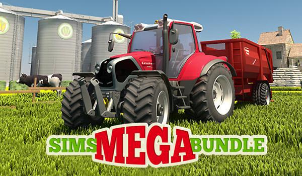 Sims Mega Bundle : 10 jeux sur PC (Dématérialisé)