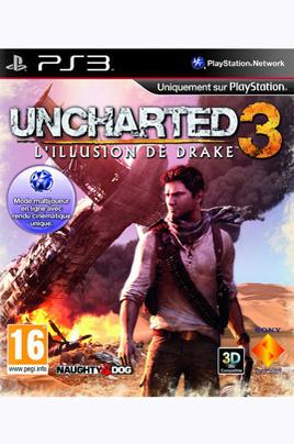 Jusqu'à 90% de réduction sur les Jeux-vidéo - Ex : Uncharted 3: Illusion de Drake sur PS3