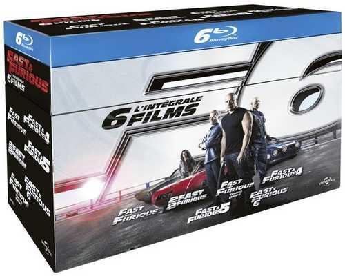 Blu-ray et DVD en Soldes - Ex : Coffret Blu-ray Intégrale Fast & Furious 1 à 6