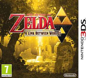 The Legend of Zelda : A Link Between Worlds sur 3DS