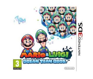 Jeu Mario et Luigi Dream Team bros sur Nintendo 3DS