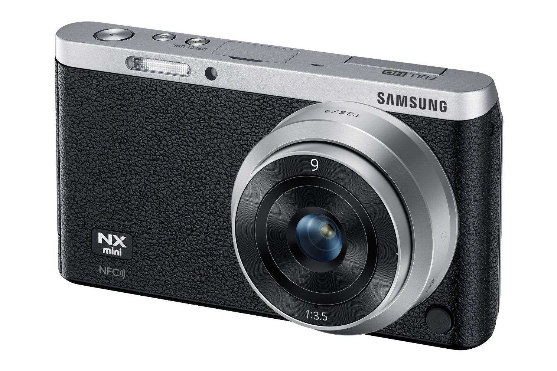 Appareil photo hybride Samsung NX Mini + 9-27mm blanc