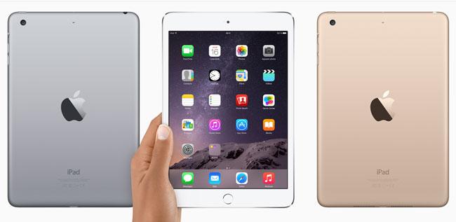 Tablette Apple iPad mini 3 - 16 Go - Or (mode démo)