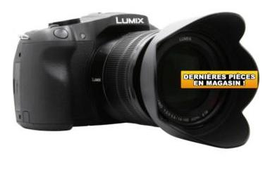Appareil photo Panasonic DMC-G6 + 14-140 (retrait uniquement en magasin)