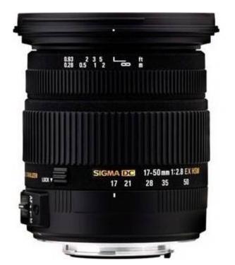 Objectif pour Reflex Pentax SIGMA 17-50mm F2,8 EX DC HSM Pentax