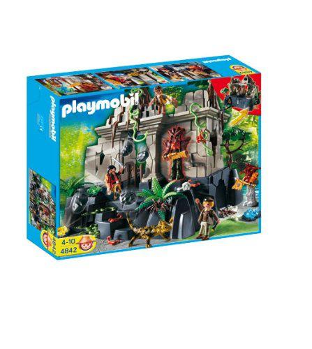 Jeu de construction Playmobil  - Temple du trésor avec gardiens