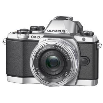 Appareil photo Hybride Olympus E-M5 Gris + Objectif 14-42mm Noir