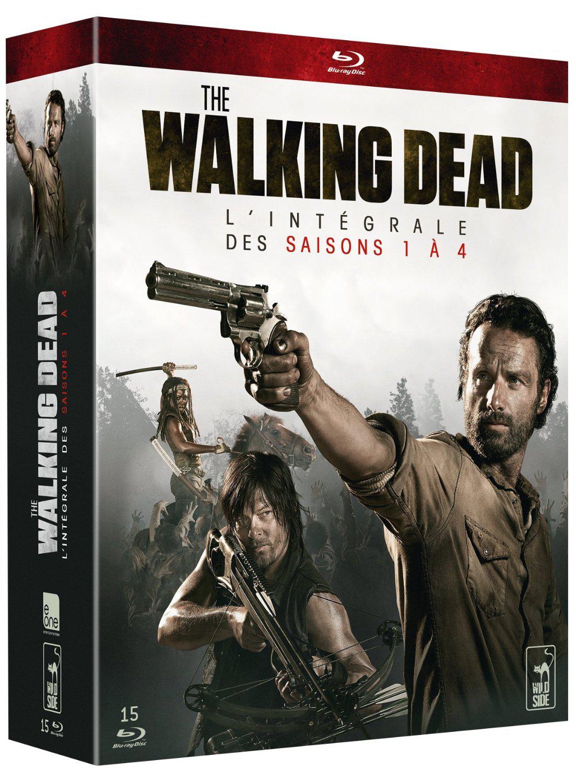 -70% sur tous les Blu-rays et DVD - Ex : The Walking Dead - L'intégrale des saisons 1 à 4 en Blu-ray