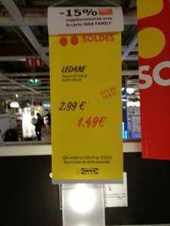 Ampoule LED Ikea Ledare 400lm e27