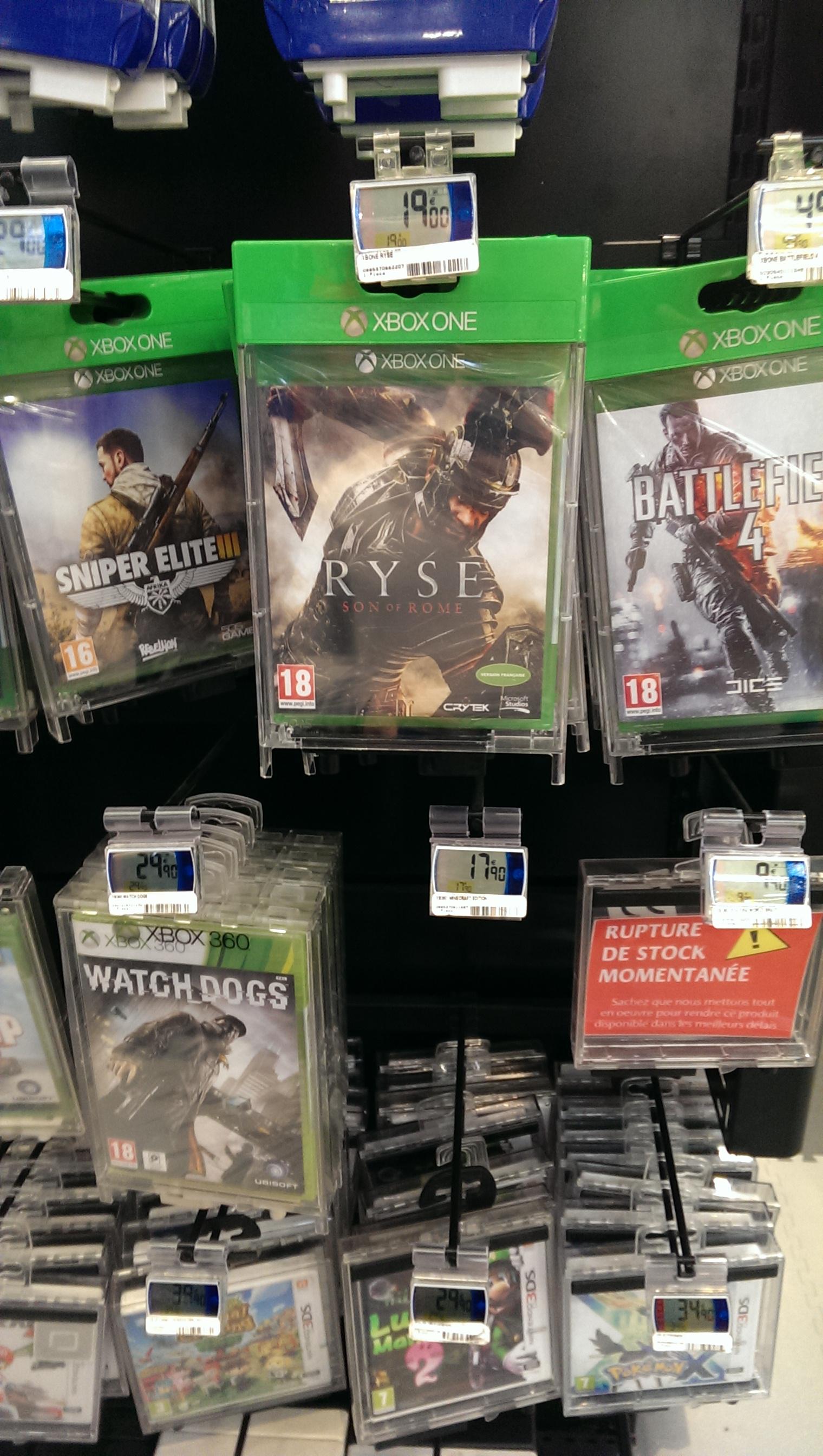 Jeu Ryse  sur Xbox One