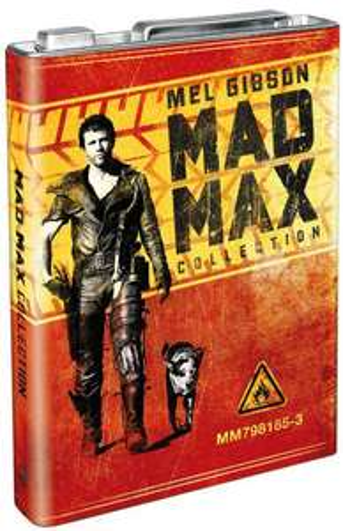 Intégrale Blu-ray de Mad Max Edition prestige dans jerrican