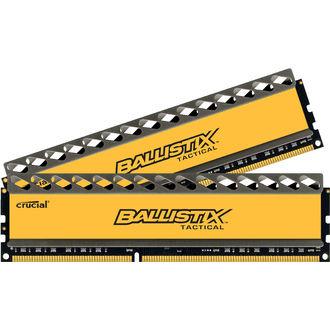 Memoire DDR3 Crucial Ballistix Tactical 8Go (2x4Go) PC14900 1866MHz CL9 1.5V w/LED