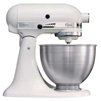 Robot pâtissier KitchenAid 5K45SSEWH Blanc