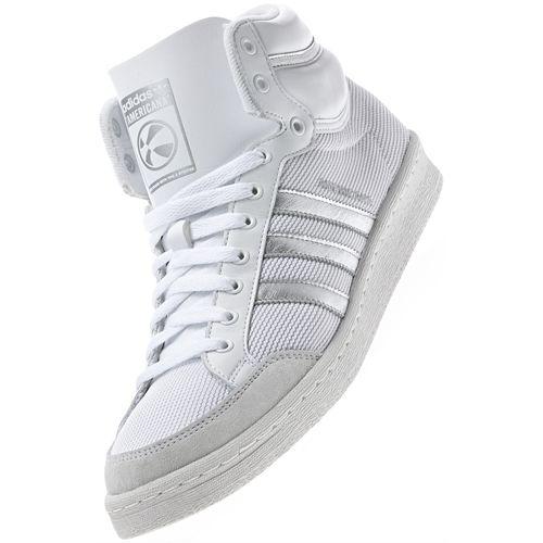 Chaussures Adidas Americana HI 88 Blanc ou Noir