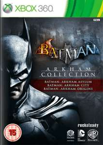 Jeu Xbox 360 Batman Arkham Trilogy
