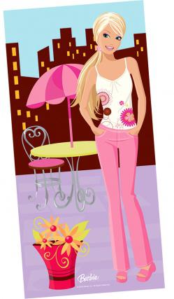 Poster Barbie Fashion 1,5 m x 0,5 m