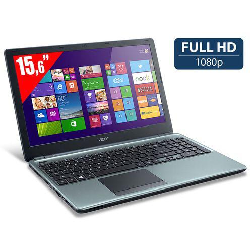"""PC portable 15.6"""" Acer Aspire E1-572G-34016G1TMnrr - Intel i3, HDD 1 To, RAM 6 Go"""