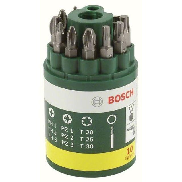 Tonnelet 9 embouts Bosch + porte embout (autres voir description)