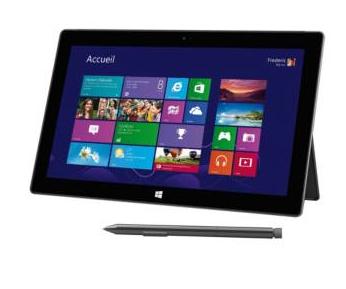 Tablette multimédia  Windows Microsoft Surface Pro 2  - 256Go